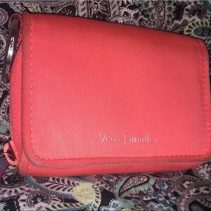 Vera Bradley's Coral Wallet